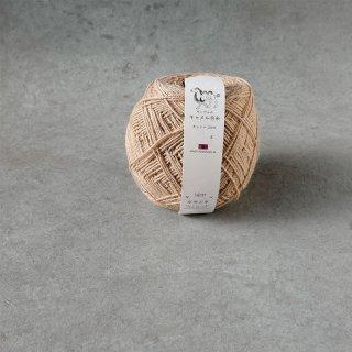 空飛ぶ羊 毛糸 キャメル ホワイト