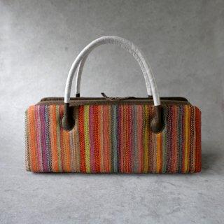 インド カンタ刺繍 利休バッグ