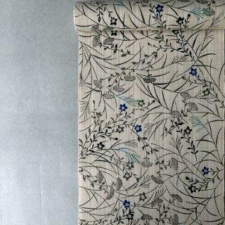 丸久商店 綿紬浴衣 「秋草」