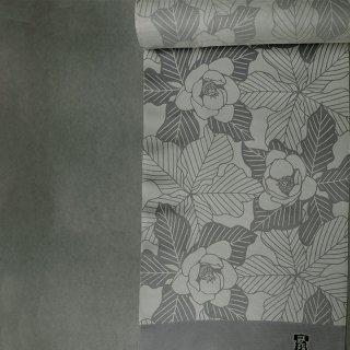 武村小平 長襦袢「オオヤマレンゲ」