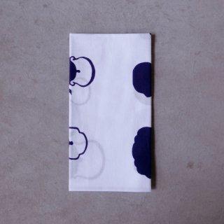 あひろ屋 手ぬぐい 鉄瓶(tetsubin) 紫紺色