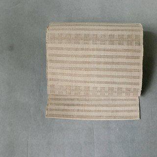 Hyma ラオス カトゥ族 八寸帯 コットン&バナナ繊維(白)