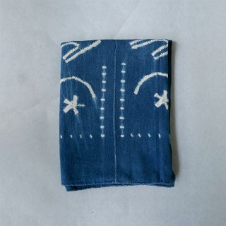 SOLOLA バンバラ族  ビンテージ藍絞り染布