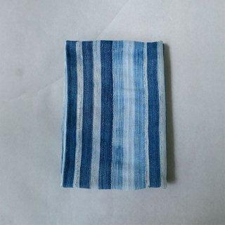 SOLOLA バンバラ族  ビンテージ藍経縞布