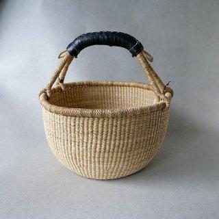 biga   西アフリカ  バスケット ロンドM  ナチュラル黒