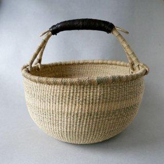 biga   西アフリカ  バスケット ロンドL  ナチュラル焦茶