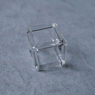 矢野容子 ピアス クリア Cube_12