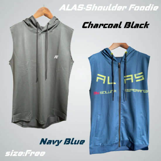 ALAS -ShoulderHoodie-<img class='new_mark_img2' src='https://img.shop-pro.jp/img/new/icons15.gif' style='border:none;display:inline;margin:0px;padding:0px;width:auto;' />