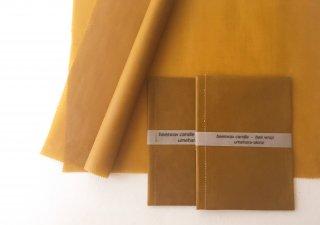 蝋引き紙のようなニュアンスの蜜蝋ラップ( 25cm×25cm)