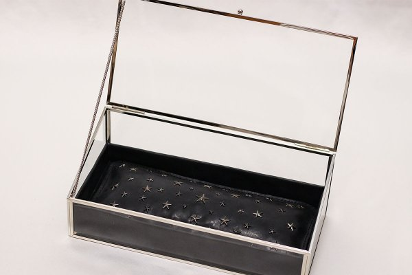 お財布のベッド MEN'S 深型 心屋仁之助モデル ブラック シルバーフレーム