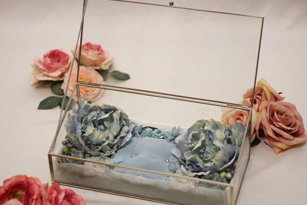 【シルバーフレーム】お財布のベッド 深型 2655