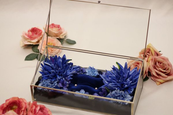 【シルバーフレーム】お財布のベッド 深型 2656