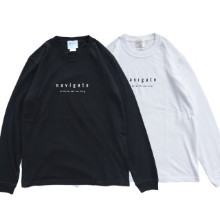 <img class='new_mark_img1' src='https://img.shop-pro.jp/img/new/icons13.gif' style='border:none;display:inline;margin:0px;padding:0px;width:auto;' />Official Long sleeve T-shirt/navigate ナビゲート