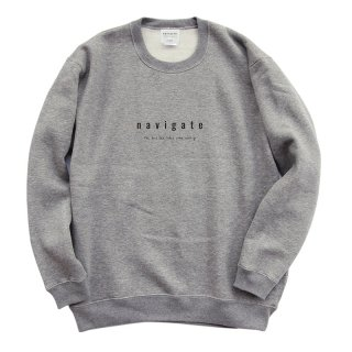 Official Crew Neck/navigate ナビゲート