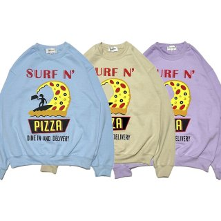 <img class='new_mark_img1' src='https://img.shop-pro.jp/img/new/icons20.gif' style='border:none;display:inline;margin:0px;padding:0px;width:auto;' />【TIME SALE 10%OFF SALE】SURF N' PIZZA CREW NEW/PALM STRIPES パームストライプス