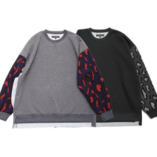<img class='new_mark_img1' src='https://img.shop-pro.jp/img/new/icons13.gif' style='border:none;display:inline;margin:0px;padding:0px;width:auto;' />KNIT-SLEEVE CUTSEW/QUOLT クオルト