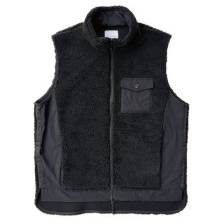 <img class='new_mark_img1' src='https://img.shop-pro.jp/img/new/icons13.gif' style='border:none;display:inline;margin:0px;padding:0px;width:auto;' />Hard seep boa vest/edit clothing エディットクロージング