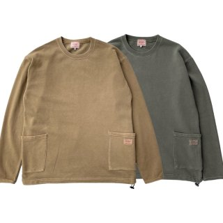 <img class='new_mark_img1' src='https://img.shop-pro.jp/img/new/icons13.gif' style='border:none;display:inline;margin:0px;padding:0px;width:auto;' />W POCKET US COTTON SMOCK/BIG MIKE ビッグマイク