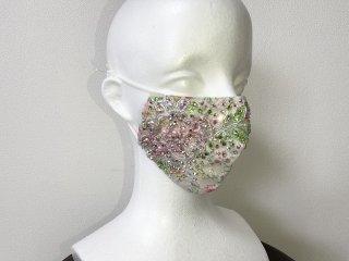 ストーンデコレーションマスク ホワイト 156719861