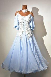 スタンダードドレス MG 水色 Mサイズ  161520630