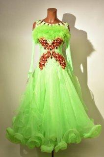 スタンダードドレス MG 黄緑赤 Mサイズ 161520729