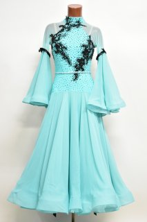 スタンダードドレス BS ミントグリーン・ブラック Mサイズ 163385504