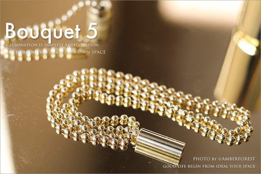 Bouquet 5LIGHT ブーケ5灯 [GEM-6895] KISHIMA キシマ
