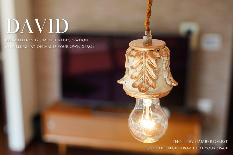 DAVID (GF020) ペンダントライト