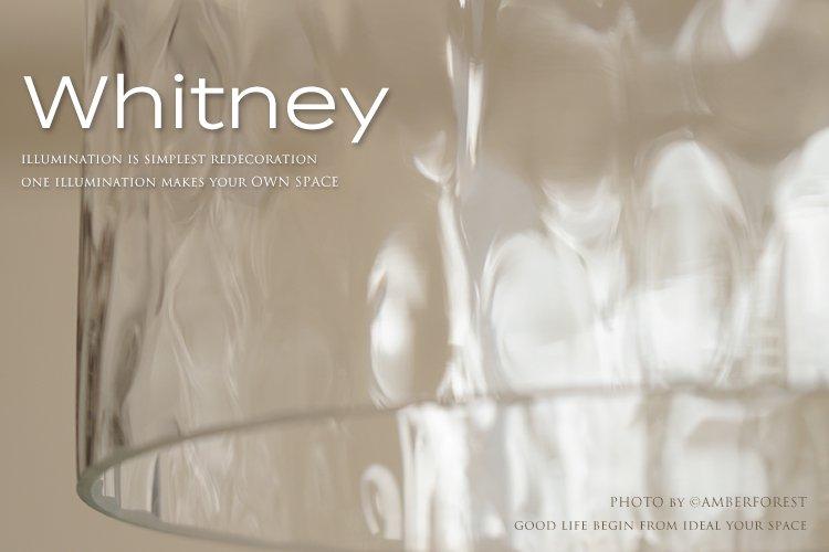 Whitney pendant lamp ホイットニー DI CLASSE ディクラッセ