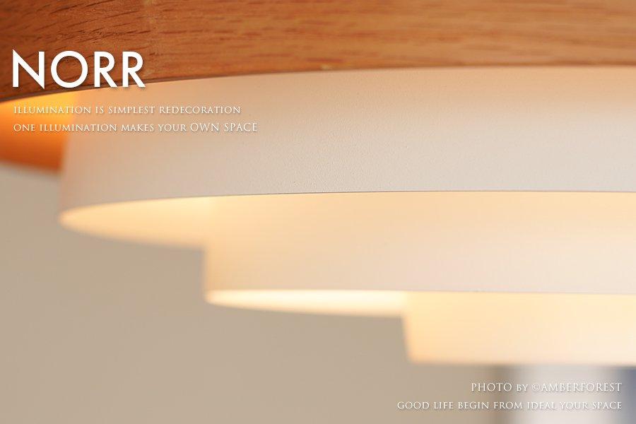 NORR (LT-3982 LT-3983 LT-3984) ペンダントライト ホワイト ブラック