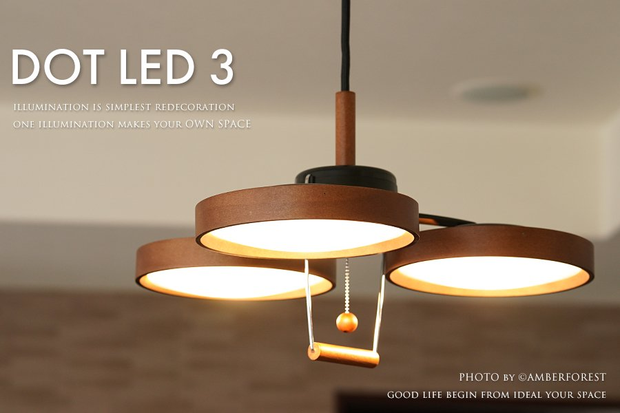 DOT LED 3 [PE-308] Slimac スライマック