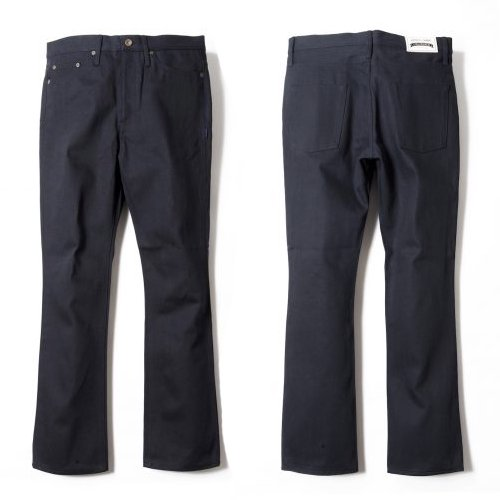 ANASOLULE / Rigid-Denim PT (BLACK / ONE-WASH)<img class='new_mark_img2' src='https://img.shop-pro.jp/img/new/icons55.gif' style='border:none;display:inline;margin:0px;padding:0px;width:auto;' />