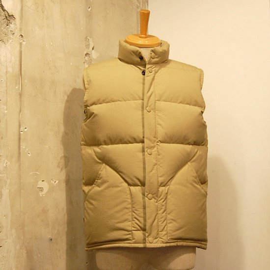 ZANTER JAPAN 6712 DOWN VEST<img class='new_mark_img2' src='https://img.shop-pro.jp/img/new/icons14.gif' style='border:none;display:inline;margin:0px;padding:0px;width:auto;' />