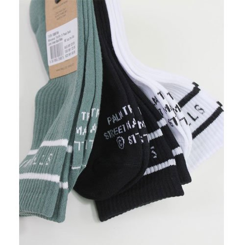 MINIMAL THRILLS 3 PACK SOCK THRILLS<img class='new_mark_img2' src='https://img.shop-pro.jp/img/new/icons14.gif' style='border:none;display:inline;margin:0px;padding:0px;width:auto;' />