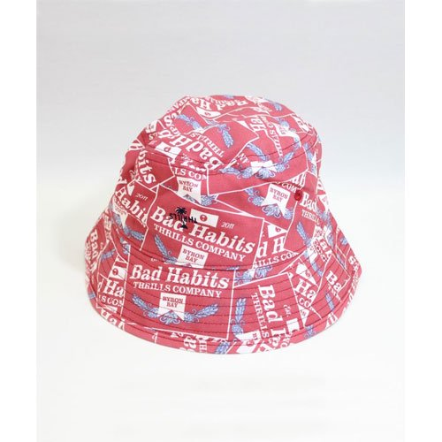 Bad Habits Bucket Hat THRILLS<img class='new_mark_img2' src='https://img.shop-pro.jp/img/new/icons14.gif' style='border:none;display:inline;margin:0px;padding:0px;width:auto;' />