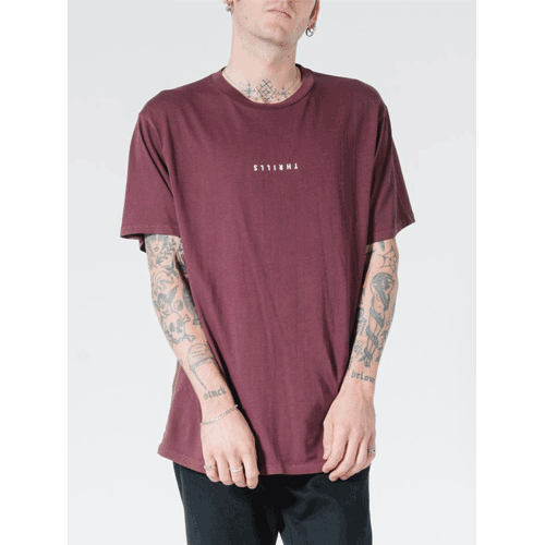 MINIMAL THRILLS MERCH FIT TEE THRILLS<img class='new_mark_img2' src='https://img.shop-pro.jp/img/new/icons14.gif' style='border:none;display:inline;margin:0px;padding:0px;width:auto;' />