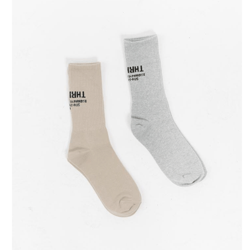 THRILLS STENCIL SOCK 2 PACK THRILLS<img class='new_mark_img2' src='https://img.shop-pro.jp/img/new/icons14.gif' style='border:none;display:inline;margin:0px;padding:0px;width:auto;' />