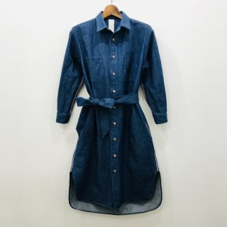SSF-FBL-01 - Denim One Piece - LT.Blue