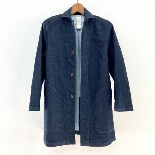<img class='new_mark_img1' src='https://img.shop-pro.jp/img/new/icons1.gif' style='border:none;display:inline;margin:0px;padding:0px;width:auto;' />Knit Denim Shop Coat