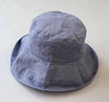 マノン 帽子/麻/リーノ・エ・リーナ/リトアニアリネン/lino e lina 【マノン】フラックスフラワー