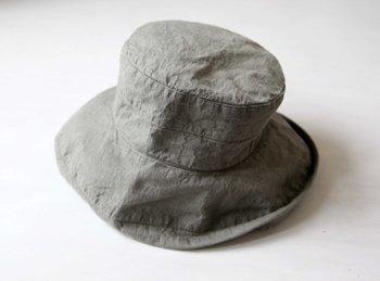 マノン 帽子/麻/リーノ・エ・リーナ/リトアニアリネン/lino e lina 【マノン】エルムグリーン