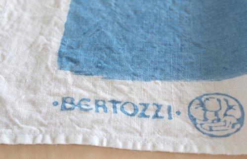 キッチンクロス/麻/ベルトッツィ/リネン/イタリア/BERTOZZI 【ピエノ】ブルー【画像4】