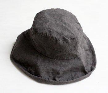 マノン 帽子/麻/リーノ・エ・リーナ/リトアニアリネン/linoelina【マノン】ポワブル