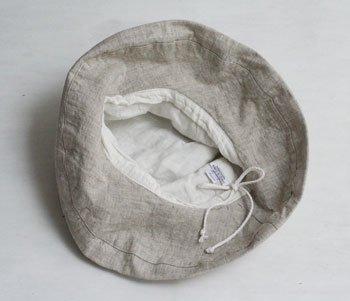 マノン 帽子/麻/リーノ・エ・リーナ/リトアニアリネン/linoelina【マノン】セザム