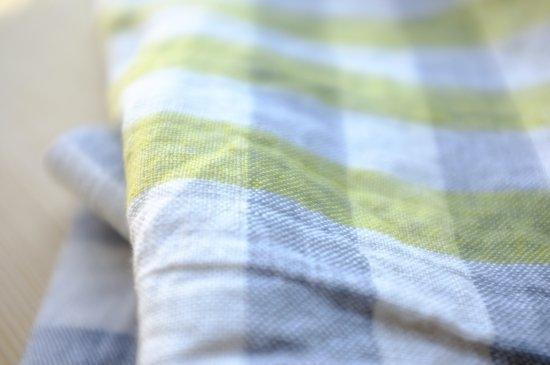 キッチンクロス/リーノ・エ・リーナ/リトアニアリネン/麻/lino e lina 【エコリエ】イエロー【画像6】