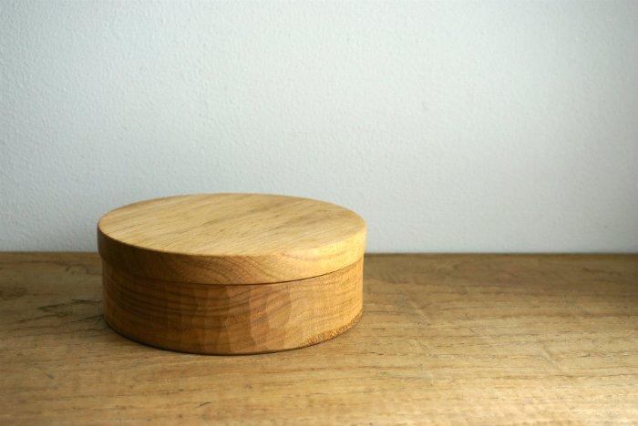 お弁当箱 まる/イタジイ  たま木工