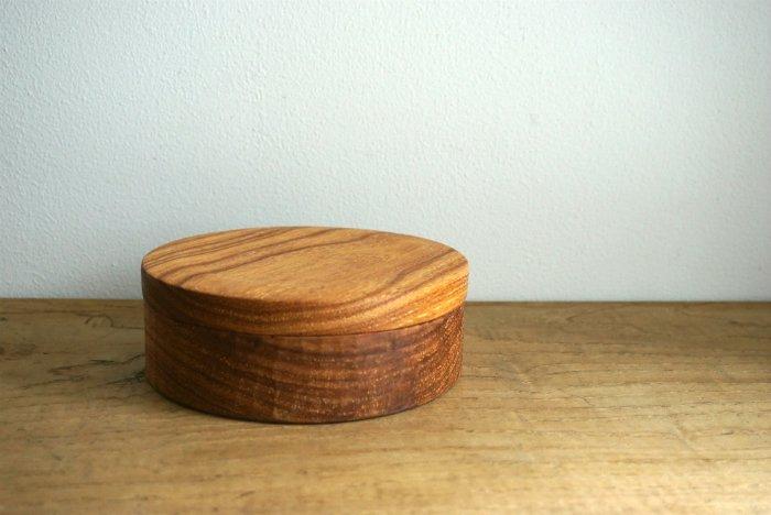 お弁当箱 まる/センダン  たま木工