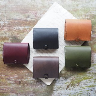 Coci Leather Short wallet