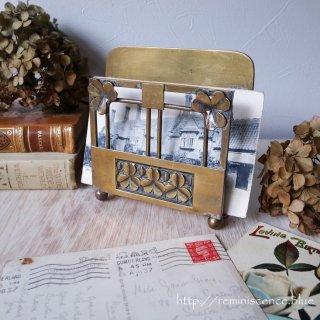 大切な手紙はシャムロックと共に/Antique Shamrock Letter Rack