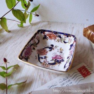 MASON'S Mandaley Blue Sweet Square Dish